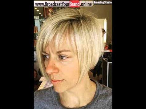blonde bob youtube short blonde bob with bangs youtube