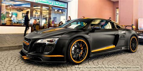 Audi R8 Matt Schwarz by Automobile Trendz Matt Black Audi R8