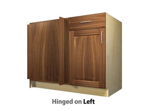 1 door 1 drawer blind corner base cabinet left