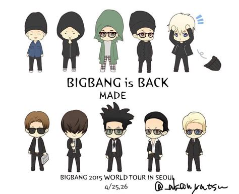 big fans logo 2015 made bigbang fan art cr logo kpop hallyu korean