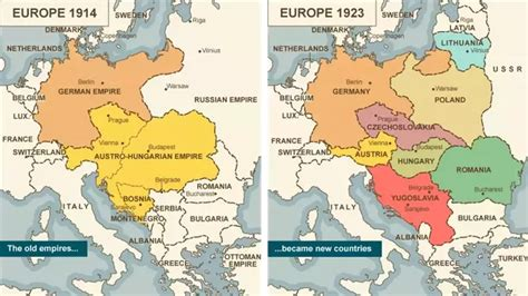 germany ww1 map what happened in germany after world war 1 quora