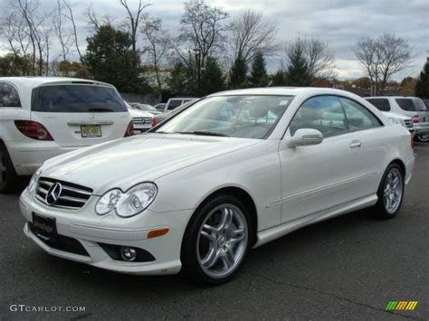 Mercedes Clk 550 by 2009 Arctic White Mercedes Clk 550 Coupe 21225089