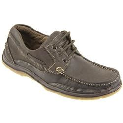 Kickers Scape Brown moccasin shoe brown