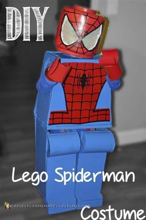 coolest homemade lego spiderman costume