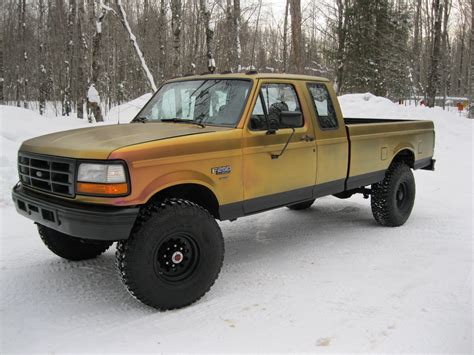 Sale L 37 4 1993 ford f 250 ext cab manual 4x4 turbo diesel 37 inch tires for sale in munising