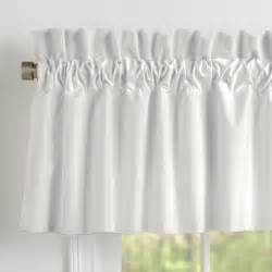 Grey Valance Curtains Solid Silver Gray Window Valance Rod Pocket Carousel Designs