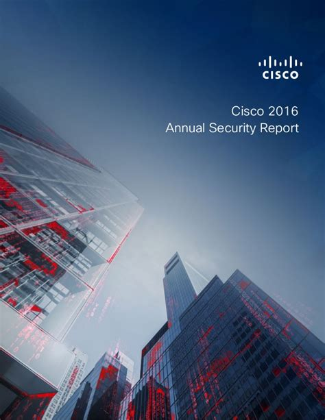 cisco annual security report