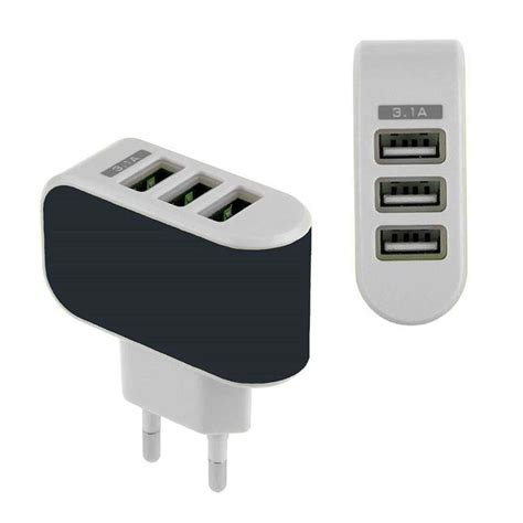 Charger Adaptor Iphone 5 us eu 3 usb port wall charger charging adapter for phones pc iphone 5 5s 6 ebay