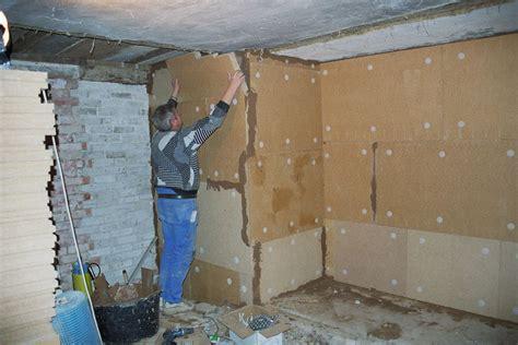 Kalte Wand Innen Isolieren by Innend 228 Mmung Mit Holzfaserplatte