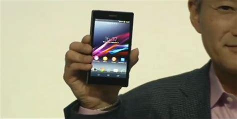 Lensa Sony Smartphone sony luncurkan z1 honami dan 2 lensa smartphone jagat review