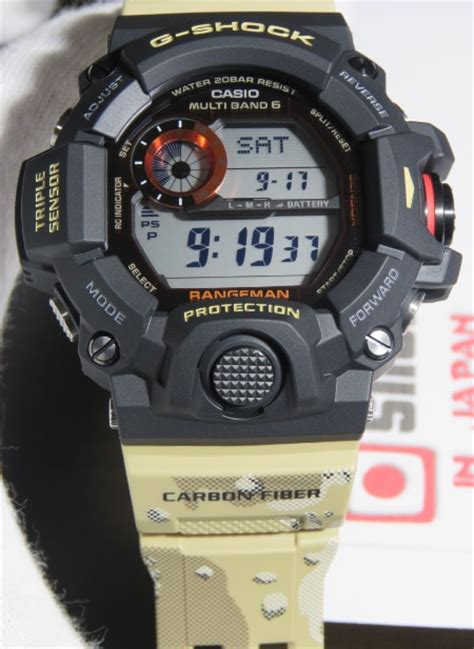 Holder Keeper G Shock 24 Mm Gw 9400 g shock rangeman gw 9400dcj 1jf master in desert camouflage gw 9400dcj 1 new
