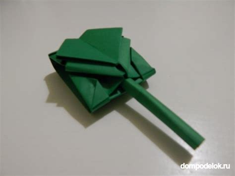 How To Make An Origami Tank Step By Step - origami panzer falten dekoking