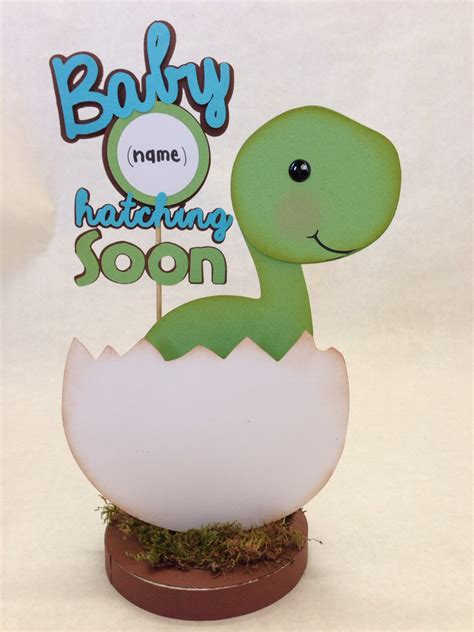 Dinosaur Baby Shower Decorations baby dino dinosaur centerpiece baby shower by divadecorations