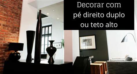 Loft Decor by Dicas Infal 237 Veis Para Decorar Paredes Com Teto Alto Ou P 233
