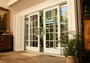 Pella Sunroom White French Doors Exterior Images