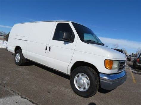 how cars work for dummies 2003 ford e series parental controls sell used 2003 ford e 350 extended cargo van 7 3 powerstroke california van diesel rare in