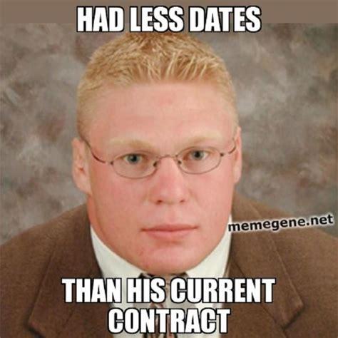 Brock Lesnar Meme - this week in wwe biz roman reigns vs john cena at