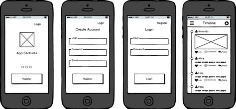 The 5 Best Free Wireframe Tools For Mobile Apps You Can T Miss Out Mobile App Storyboard Template