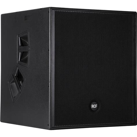 Speaker Rcf 21 Inch rcf nx s21 a active subwoofer nx s21a b h photo