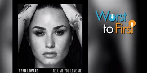 demi lovato latest album songs worst to first demi s tell me you love me songs ranked
