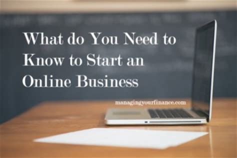 Do You Need An Mba To Start Your Own Business by What Do I Need To To Start An Business
