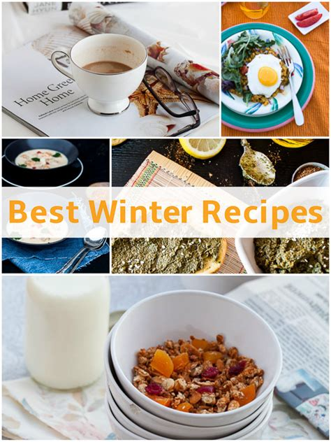 Best Winter Recipes | celebrate winter the best cold weather recipes featuring