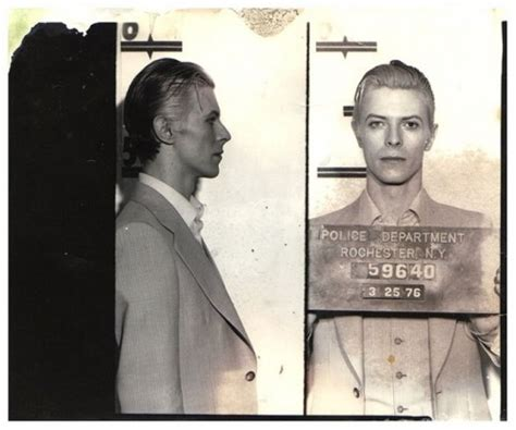 david bowie s 1976 weed arrest and mugshot the full story