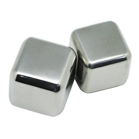 reusable stainless steel cube 4pcs es batu stainless jakartanotebook