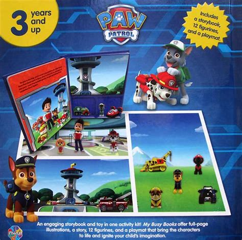 Buku Anak Impor Paw Patrol My Busy Book Original Termurah my busy book paw patrol includes a storybook 12