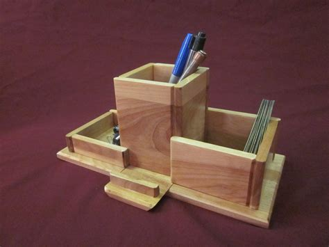 Phone Caddy For Desk by Pair Of Desk Caddies With Secret Phone Stand By Dave