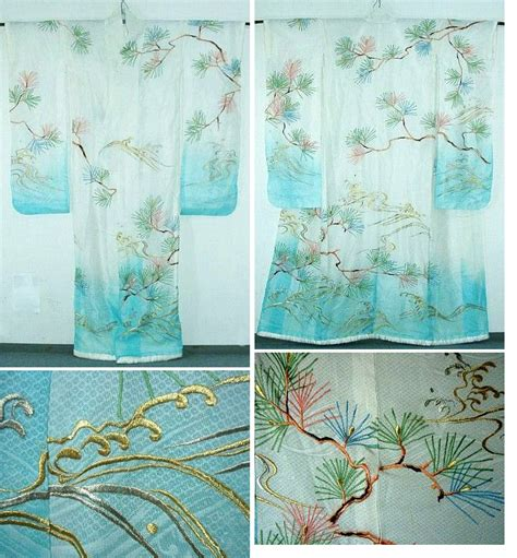 kimono water pattern aimeemajor com transparent water ro bride s furisode