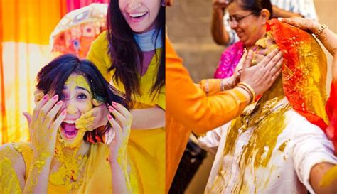 side  side haldi ceremony   side  side