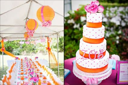 Pink And Orange Baby Shower by The Cutest Pink And Orange Baby Shower