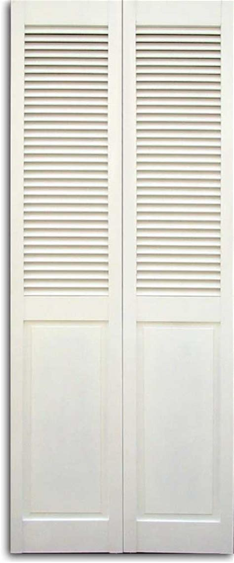 Louvered Doors Closet Impressive Bi Fold Louvered Closet Doors Roselawnlutheran
