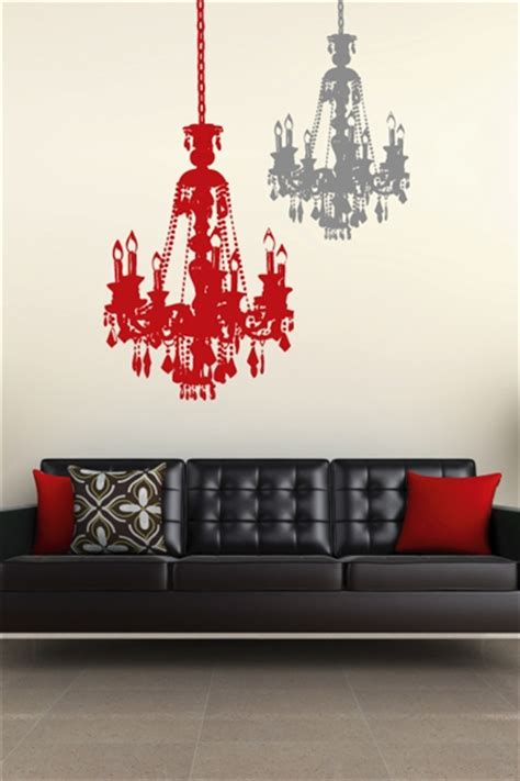 Chandelier Decals Wall Decals Chandelier Walltat Without Boundaries