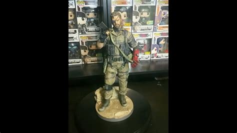 First4figures Mgs Solid Snake Statue Metal Gear Solid 5 Venom Snake 1 6 Statue