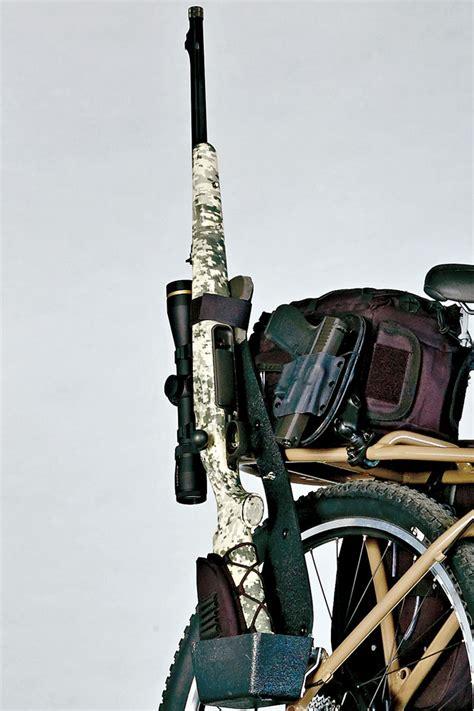 Bicycle Gun Rack by The Ultimate E Bike Petersen S