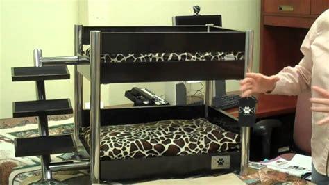 Cool Looking Beds lazybonezz metropolitan pet bunk bed youtube