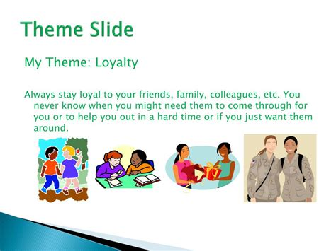 themes of loyalty in the outsiders ppt the outsiders by s e hinton power point