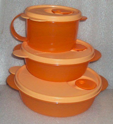 Tupperware Crystalwave Bowl Orange pin by boris randahl on home kitchen