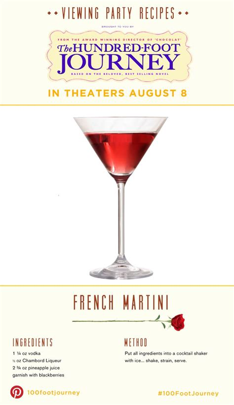 french martini french martini the bachelorette viewing party kit