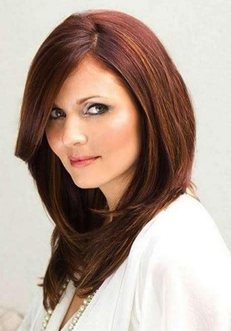 cortes de pelo largo para caras redondas peinados para cara redonda pelo largo