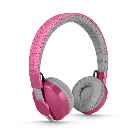 Headphone Pink Wireless Bluetooth Pink Headphones Think Pink