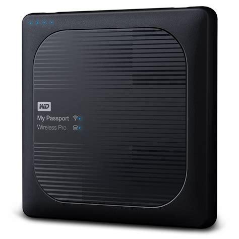 Wd My Passport Wireless Usb 30 External Drive 1tb Black 1 wd 2tb my passport wireless pro usb 3 0 wdbp2p0020bbk nesn b h