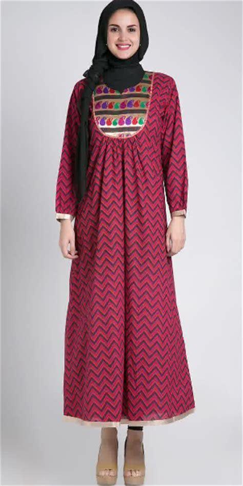 desain busana muslim batik contoh model baju hamil batik muslim terbaru 2015
