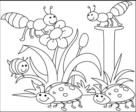 coloring pages spring coloring pages free printable spring coloring pages kids