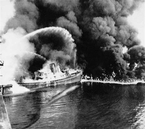 boat junk yard milwaukee june 22 1969 umm the cuyahoga river s on fire again