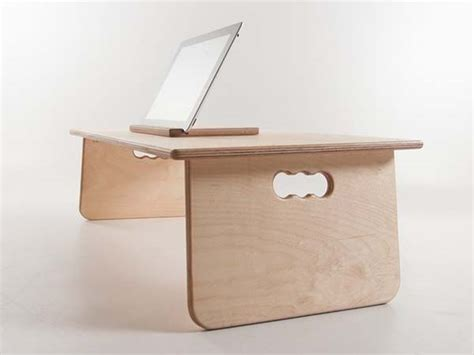 fold up laptop desk the handmade fold away laptop desk by bee9 gadgetsin