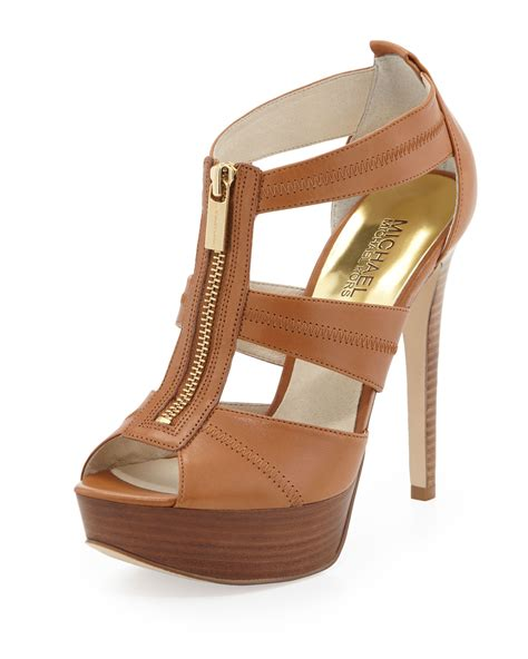 michael kors sandal michael michael kors berkley tstrap sandal in brown