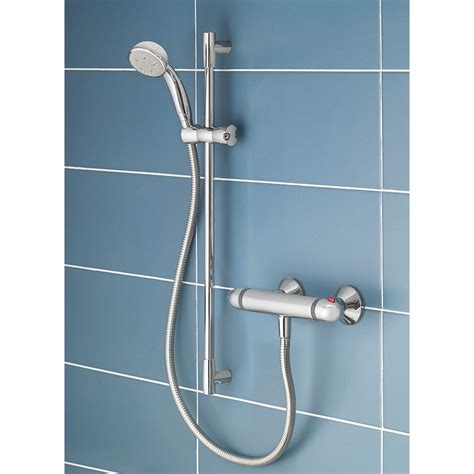 Swirl Thermostatic Mixer Shower Valve by New Mira Coda Ev 2 Thermostatic Mixer Shower Exposed